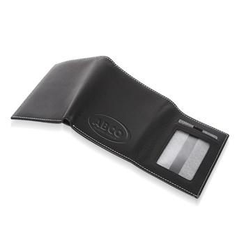 Tri Fold Leather Wallet