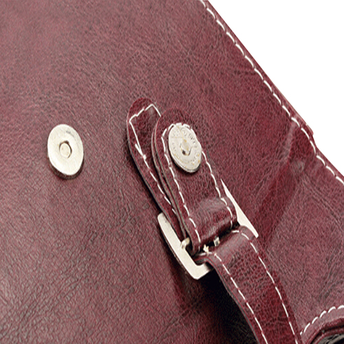 Dual Leather Wine Carrying Tote Image 15
