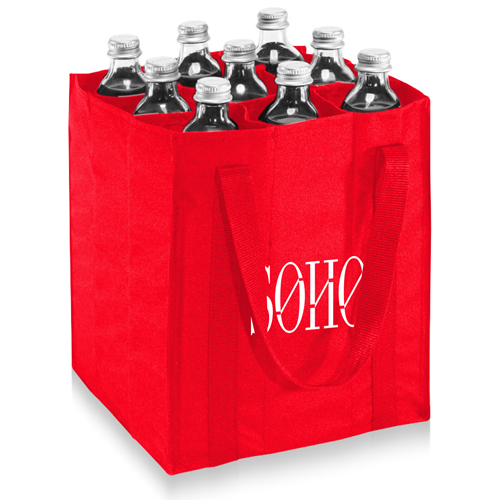 9 Bottle Carrier Tote Bag