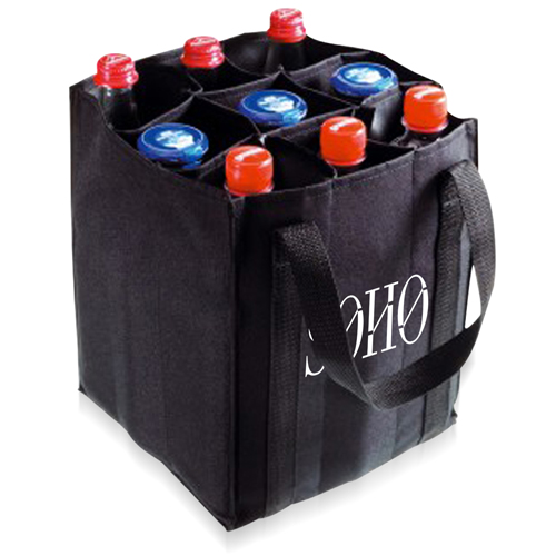 9 Bottle Carrier Tote Bag Image 2