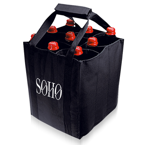 9 Bottle Carrier Tote Bag Image 3