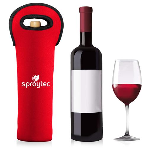 Insulated Neoprene Wine Bottle Bag