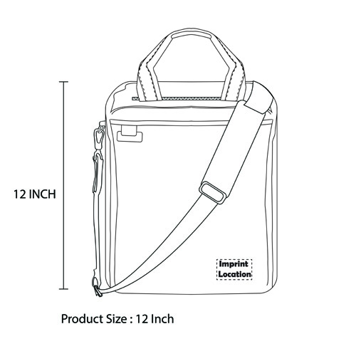Waterproof Notebook Messenger Bag