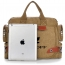 Canvas Messenger Briefcase