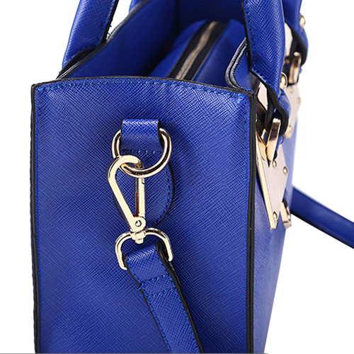 Leather Top Handle Tablet Women Handbag