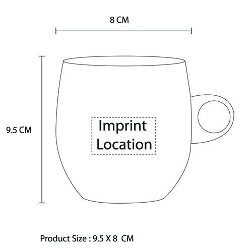 Zizyphus Jujube Wood Beer Mug Imprint Image