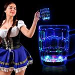 Light-Up Water Inductive Beer Mug