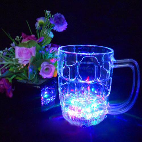 Light-Up Water Inductive Beer Mug Image 1