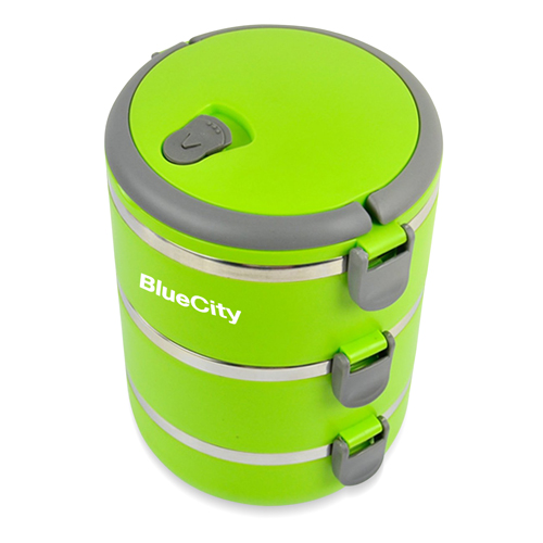 Round Heat Insulated Lunch Box Image 3