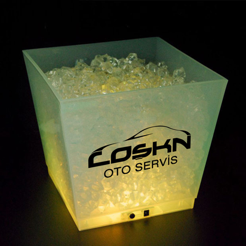Rechargeable LED Ice Bucket