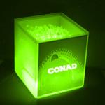 Transparent Cube LED Ice Bucket
