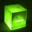 Transparent Cube LED Ice Bucket