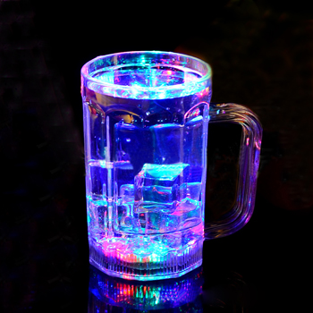Glowing LED Beer Glass
