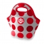 Circle Dot Neoprene Lunch Cooler Bag