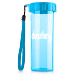 Transparent Water Bottle With Wrist Strap