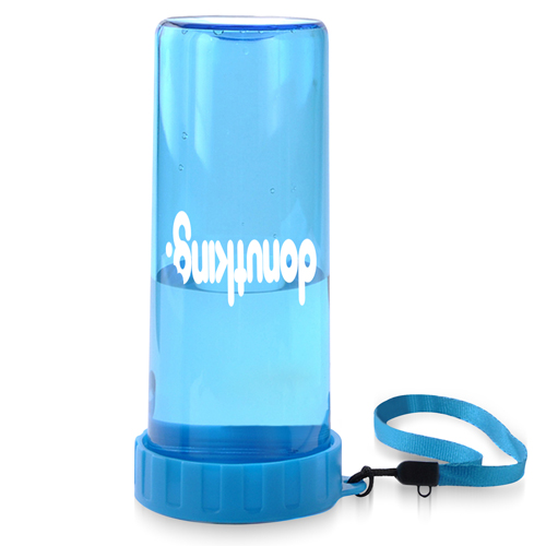 Transparent Water Bottle With Wrist Strap Image 3