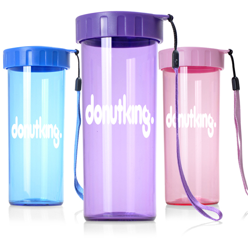 Transparent Water Bottle With Wrist Strap Image 5