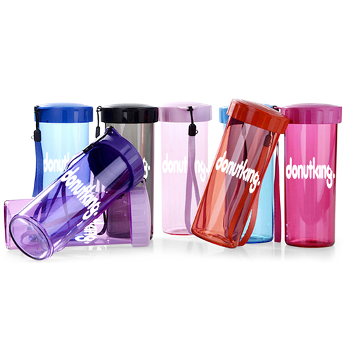 Transparent Water Bottle With Wrist Strap Image 6