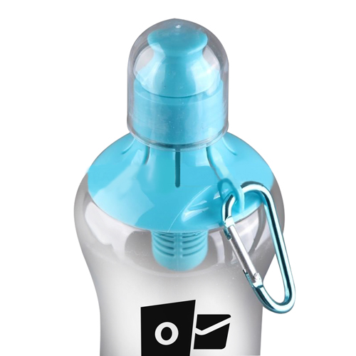 Filter Water Bottle With Carry Cap