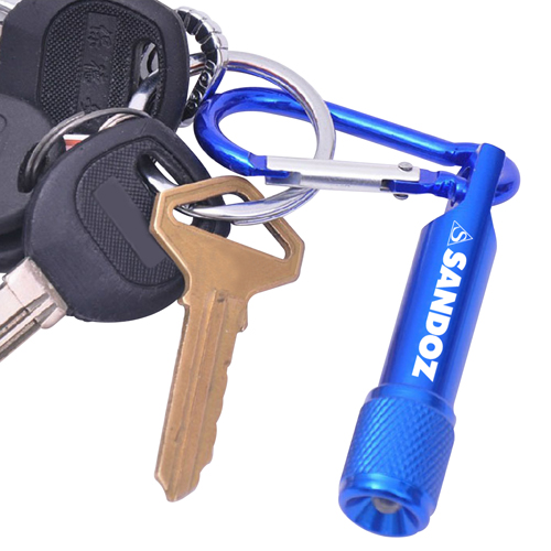 Mini Carabiner LED Flashlight Image 3