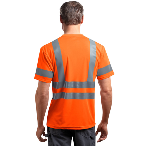 Reflective Short-Sleeves Snag T-Shirt Image 2