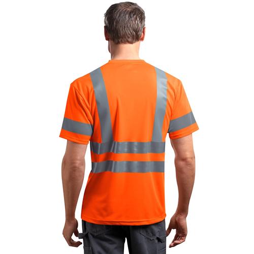 Reflective Short-Sleeves Snag T-Shirt