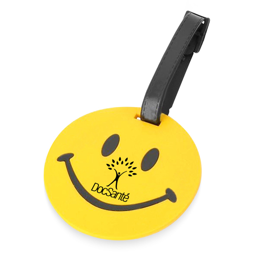 PVC Circle Travel Luggage Tag