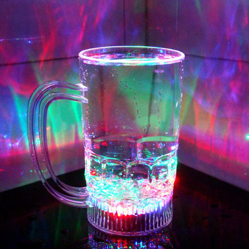Water Inductive Luminous Beer Mug Image 3
