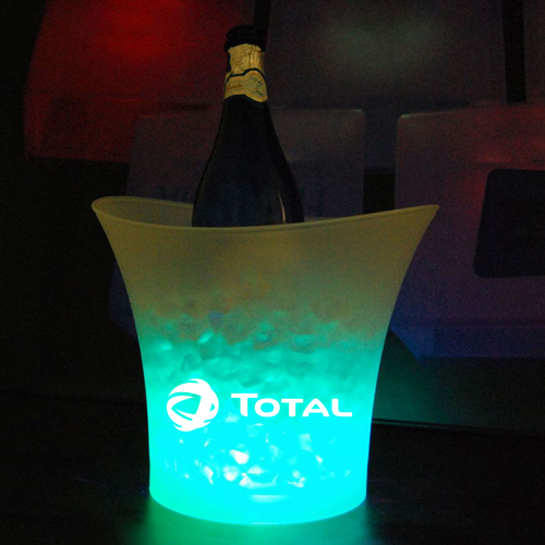 illuminated Led Ice Bucket Image 2