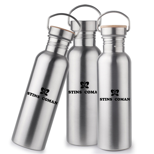 Multi-Layer Stainless Steel Bottle With Bamboo Cap Image 7
