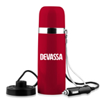 Stainless Steel Vacuum Flask With Adapter