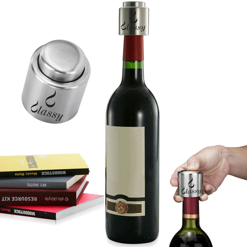 Wine Stopper Fresh Bottle Image 1