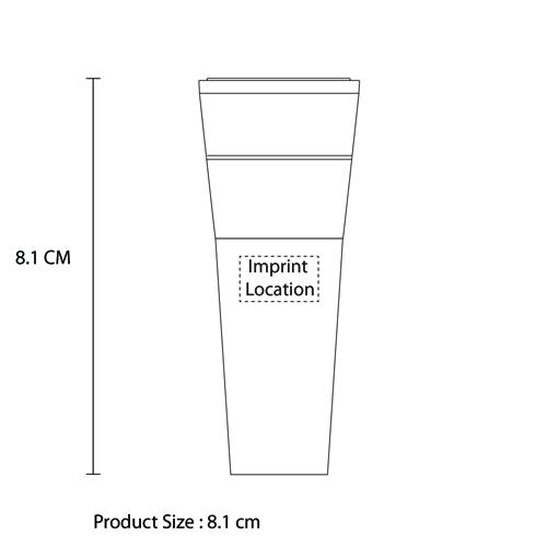 Pump-Action Vacuum Wine Stopper Imprint Image