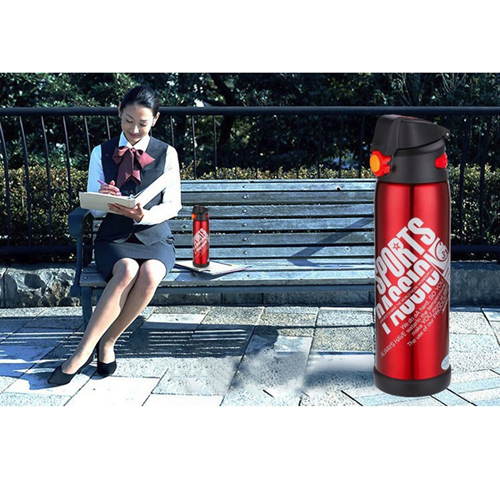 Outdoor Portable 600ML Vacuum Flask Image 9