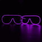 Flashing EL Wire Glasses