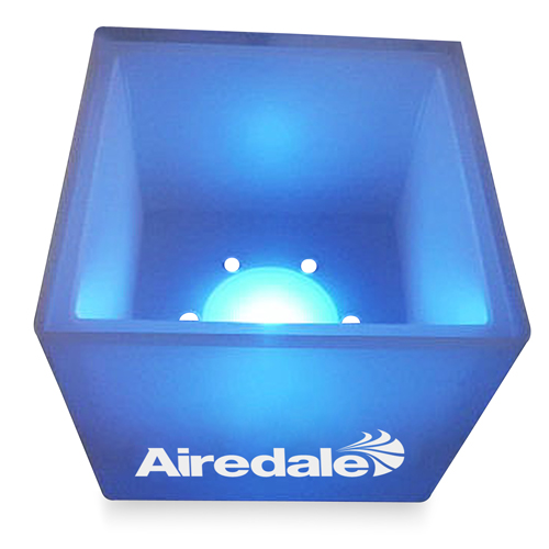 Square Luminous Ice Bucket