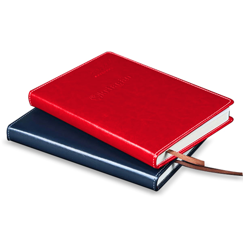 Stylish A5 Leather Notebook