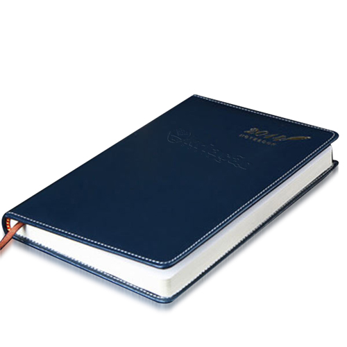 Stylish A5 Leather Notebook Image 1