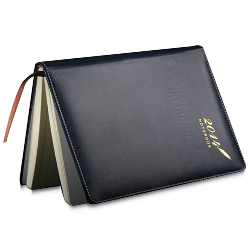 Stylish A5 Leather Notebook Image 2