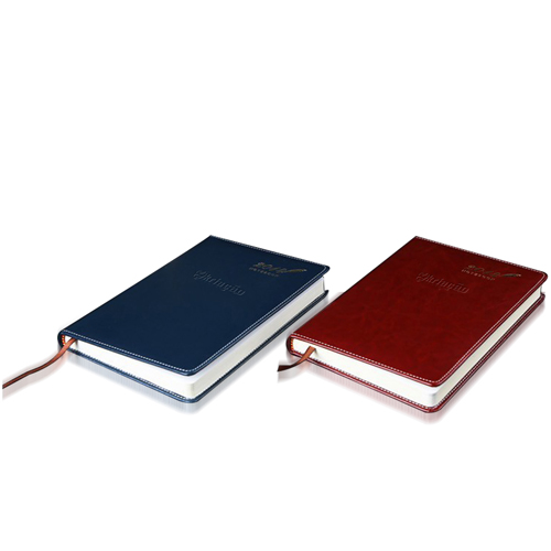 Stylish A5 Leather Notebook Image 3