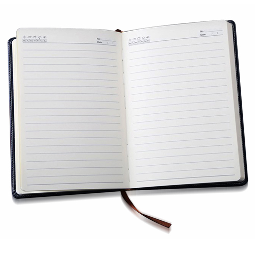 Stylish A5 Leather Notebook
