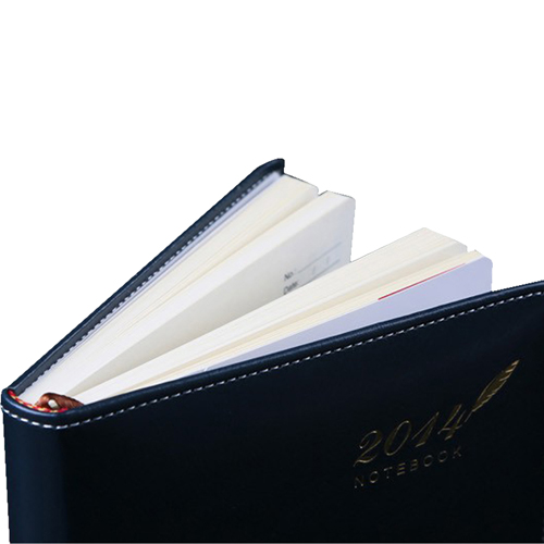 Stylish A5 Leather Notebook Image 6