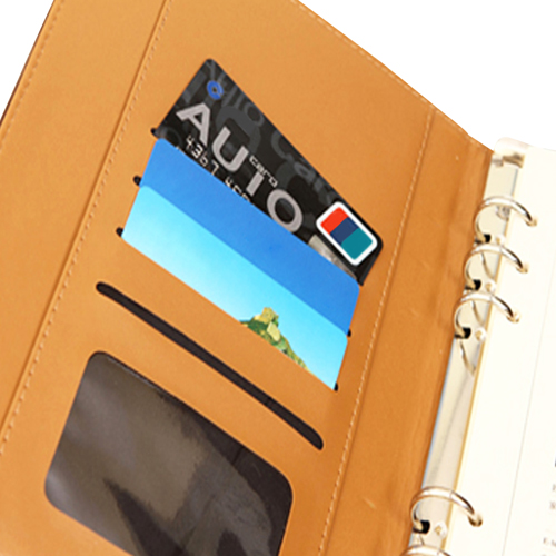 Hardcover Magnet Loose-Leaf Notebook