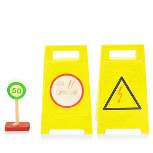 Warnings Sign Memo Stickers