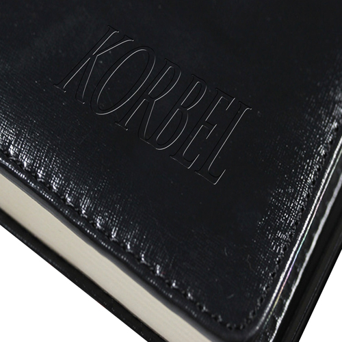 Leather Hardcover Business Notebook Image 10