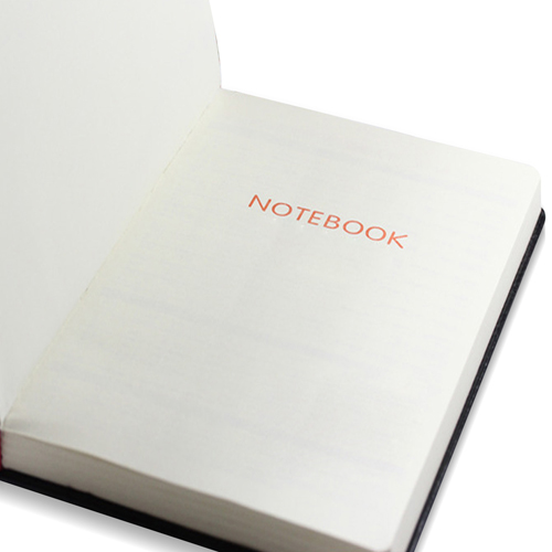 Leather Hardcover Business Notebook Image 11