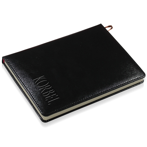 Leather Hardcover Business Notebook