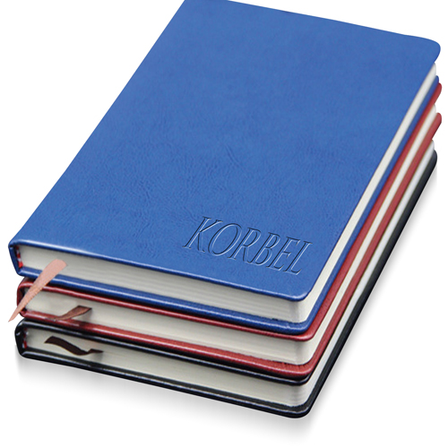 Leather Hardcover Business Notebook Image 2