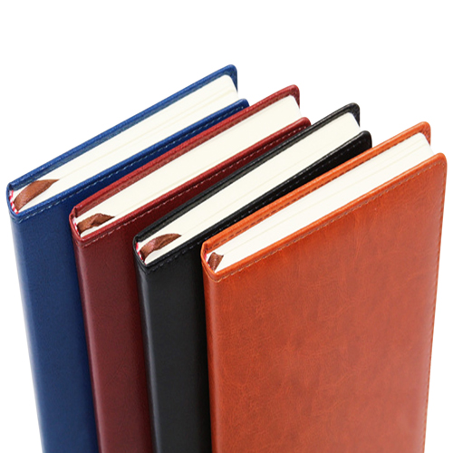 Leather Hardcover Business Notebook Image 8