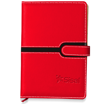 Hardcover Magnetic Buckle Notebook (135 x 190 Size)